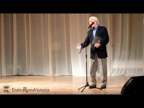 Manolo Zarzo recibe homenaje en el Teatro Reina Victoria