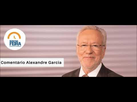 Comentário de Alexandre Garcia para o Bom Dia Feira - 11 de Julho
