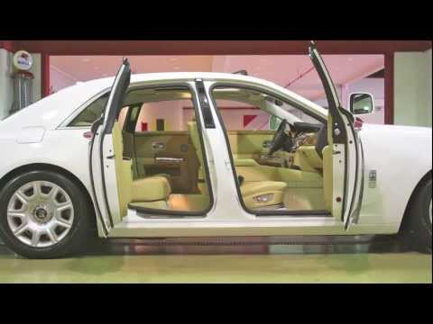 2010 Rolls-Royce Ghost-- Video Test Drive and Review with Chris Moran