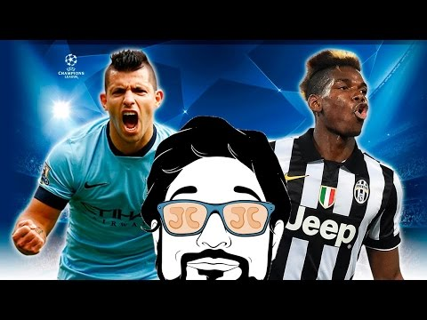 JUVENTUS VS M.CITY | ALLO STADIO CON CREEK E ROHN