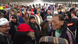 How the encounter between Nathan Phillips & Nick Sandmann ended