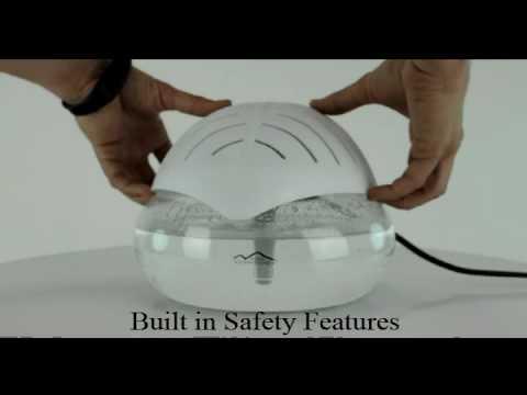 Water Globe Air Purifier New Comfort Water Air Purifier