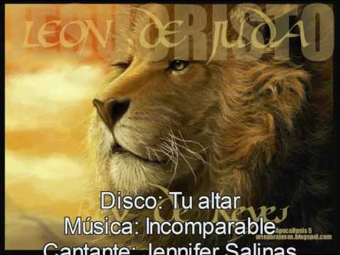 Incomparable (Jennifer Salinas) - Letra