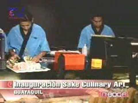 Inauguracion Sake Culinary Art