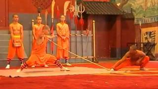 Shaolin-Mönche in China