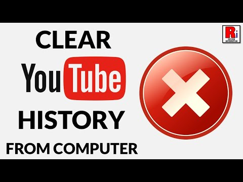 CLEAR YOUR YOUTUBE  HISTORY PERMANENTLY FROM COMPUTER