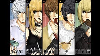 Death Note Character Analysis (Anime and Netflix Movie) - MBTI