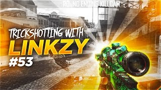 TRICKSHOTTING WITH LINKZY RETURNS!!! - 2 SHOTS 1 GAME! #53
