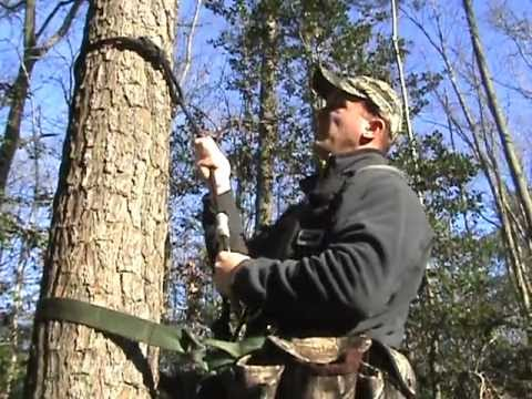 trophyline tree saddle rope hook up The ambush saddle by trophyline and both of your hands should be free to hook up always set up the saddle just as you would a tree stand with.