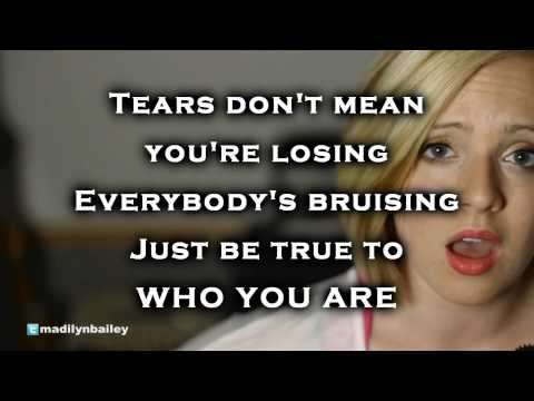 Madilyn Bailey - Who You Are cover with lyrics HD