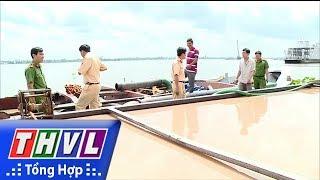 THVL | Công an Vĩnh Long phát hiện và bắt giữ 3 sà lan khai thác cát trái phép