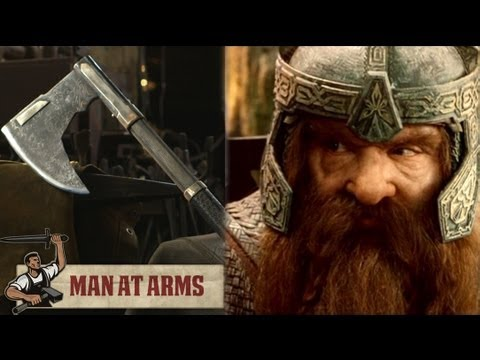 Forging Gimli's Bearded Axe (Lord of the Rings) - MAN AT ARMS