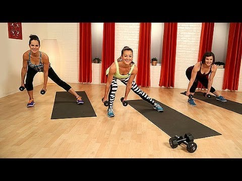 10-Minute Body Toning Workout With Weights | Class FitSugar