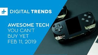 Awesome Tech You Can't Buy Yet - February 11, 2019: DIY Game Consoles and Indestructible Flashlights