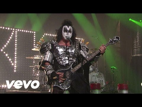 KISS - I Love It Loud (Live @ Letterman, 2012)