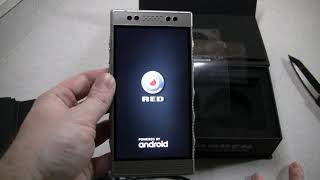 Red Hydrogen One Titanium Unboxing & Weigh-In