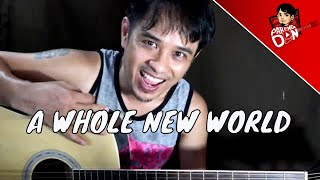 Trending song - A Whole New World chords guitar (Zayn and Zhavia) for Pinoys | Pareng Don Tutorials