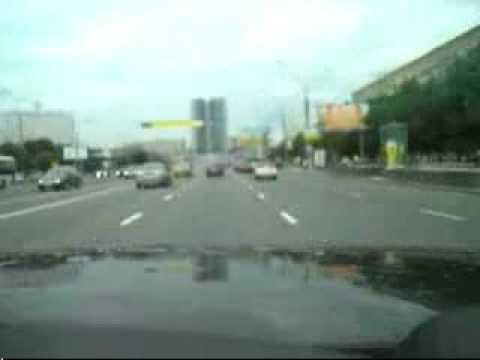 Range Rover Sport In Russia CRAZY people muchisima velosidad Video