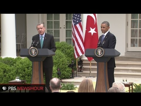 Watch Joint Press Conference with President Obama and Turkish Prime Minister Erdogan at White House
