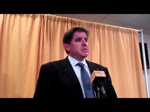 Peter Laviolette - Post Game - Nashville Predators vs Vancouver Canucks