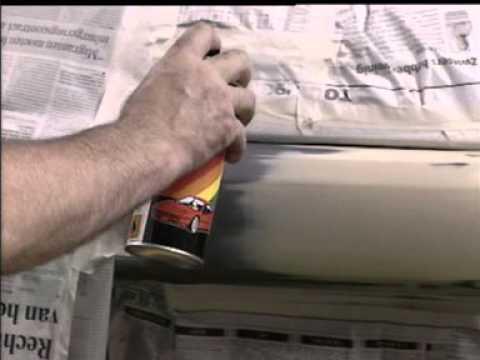 Устранение сколов на бампере