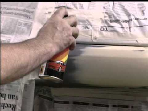 Устранение царапин на пластиковом бампере