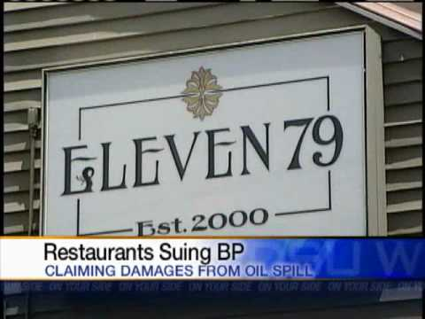 Restaurants Taking Legal Action Against BP