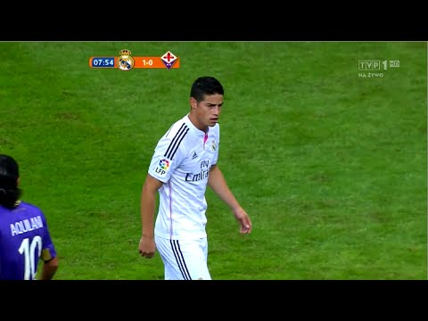 James Rodriguez vs Fiorentina  (16/08/2014) 720p HD