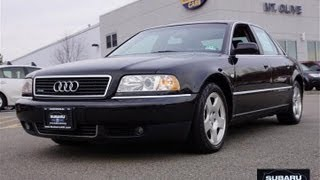 2000 Audi A8 4.2 Quattro Vehicle Overview