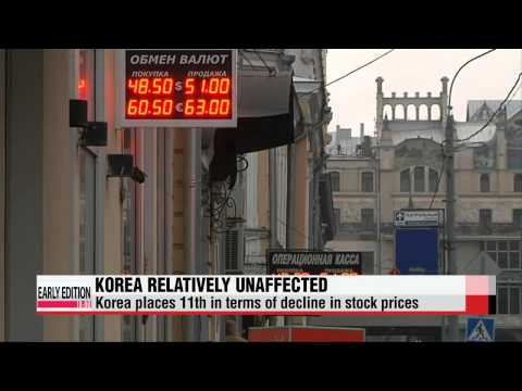 Korea′s financial market relatively unaffected by Russian financial crisis   韓,