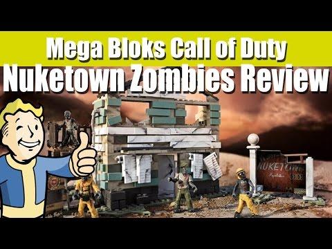 Mega Bloks Call of Duty - Nuketown Zombies Review