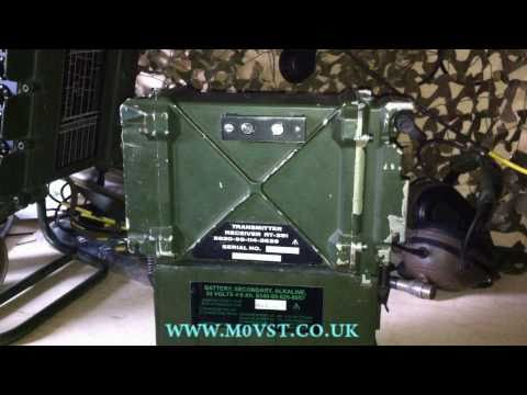 PRC-351/2 VHF MIlitary Manpack Transceiver [HD] - M0VST