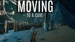 MOVING TO A CAVE! and Dying For Sap - Official 6 Man Servers - ARK Survival