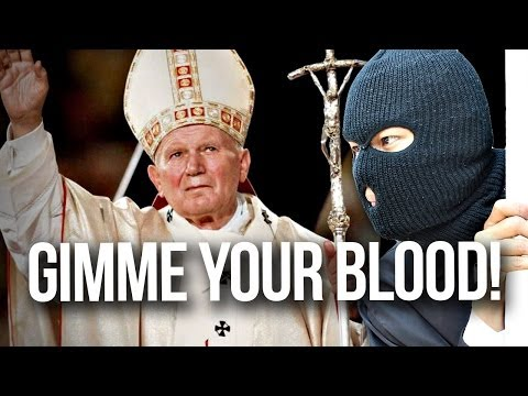 Satanists Steal The Pope's Blood?!
