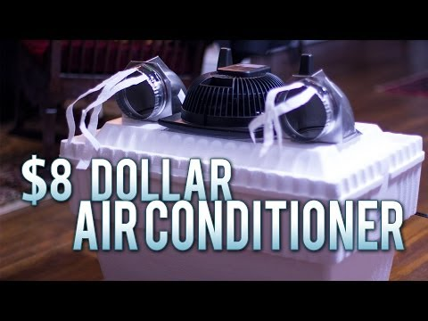 $8 Homemade Air Conditioner - Works Flawlessly!