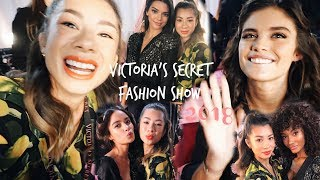 VICTORIA'S SECRET FASHION SHOW 2018 | I met Kendall Jenner, Sara Sampaio and many more Angel's