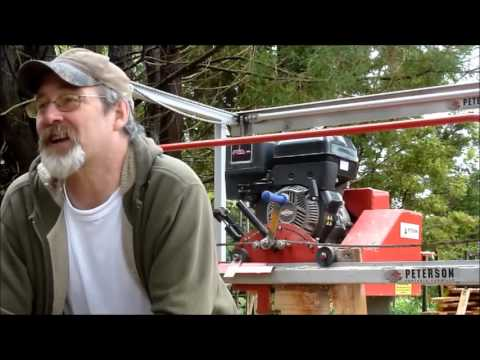 A Portable Sawmill that's right for you - Junior Peterson (JP)