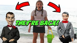 Slappy & Danny Are BACK!! Is Slappy's Sister Coming? Goosebumps in Real Life!