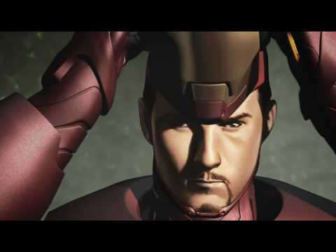 Thumb Iron Man Extremis Motion Comic de Marvel