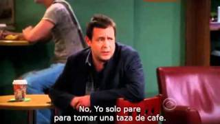 Two and a half men: ¡Police, Police! (Sub en español)