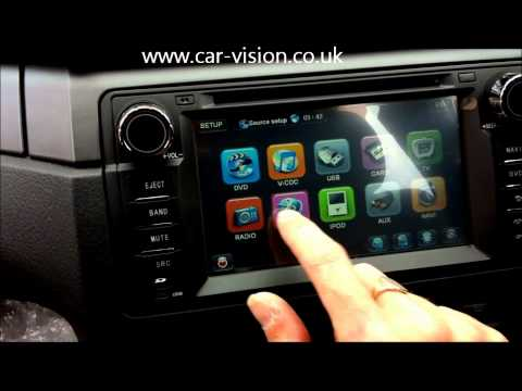BMW E46 OEM Upgrade GPS DVD Medi system