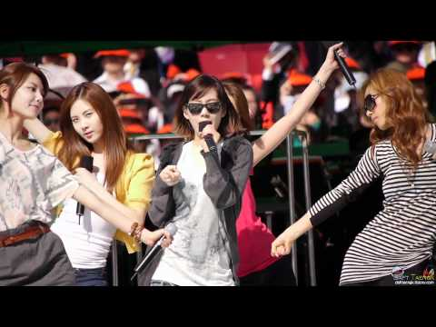 110514 Snsd Hoot Rehearsal video