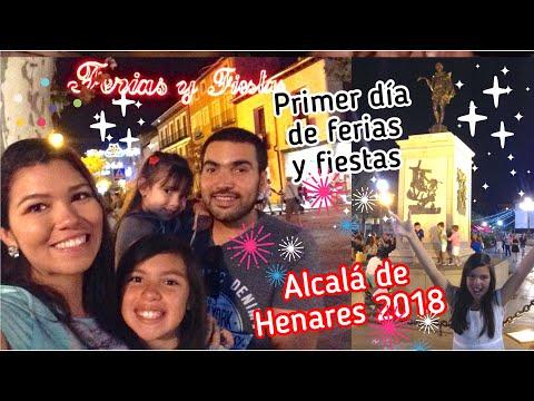 Ferias y fiestas 2018 de Alcalá de Henares. Así la pasamos el primer día sábado 25 de agosto