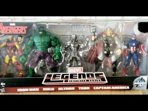 Marvel Legends Avengers Movie Hulk Marvel Legends Avengers 5 Pack