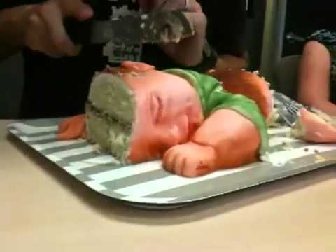 Baby Shower Cakes Shaped Like A Baby