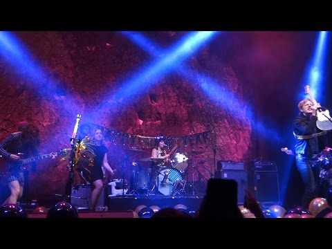 Sleater-Kinney � Rebel Rebel (David Bowie cover) - San Francisco, Live, 12-31-16, front rows, The Masonic. Britt Daniel and The Thermals join the band for the final song! Carrie: Way past...