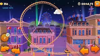 game lái tàu lượn trong công viên/ Thrill Rush Theme Park/ game world for kids