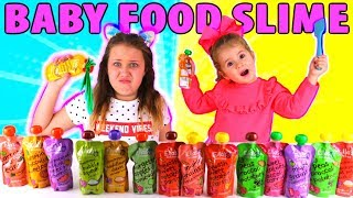 Don't Choose the Wrong Baby Food Slime Challenge!!!