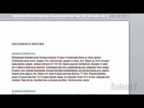 DOCUMENTOS MAESTROS (WORD 2010)
