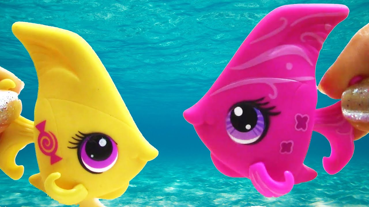 Lps angel fish candy swirl dream collection blind bag for Fish pet shop
